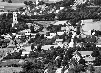 Billeberga flygfoto 1930-talet
