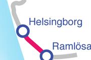 Helsingborg karta