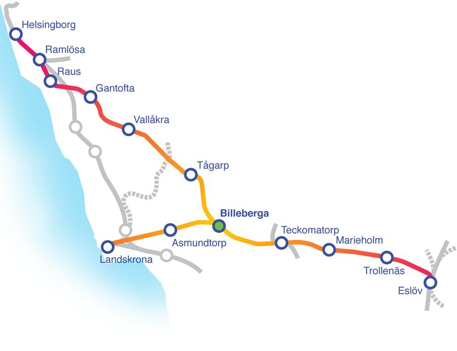klickbar linjekarta