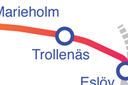 Trollenäs karta