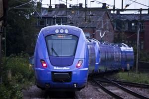 X61 på utfart från Lund