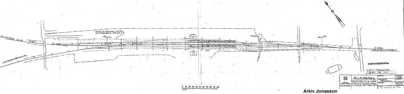 Billeberga spårplan 1986