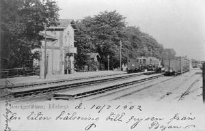 Billeberga station cirka 1900