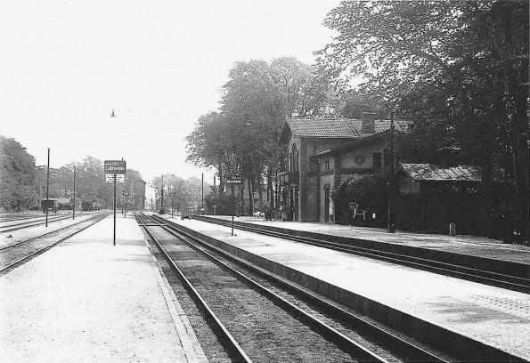 Billeberga station på 1920-talet