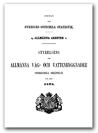 Statistisk rapport 1878 omslag