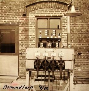 Asmundtorp vevställverk 1956