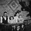 Familjen Allan Bengtsson i Reslöv 1950