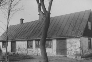 Familjens bostadshus på Årup