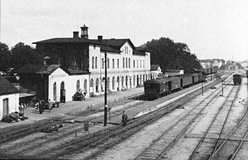 Landskrona station ca 1945