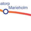 Karta banan Teckomartorp-Marieholm-Eslöv