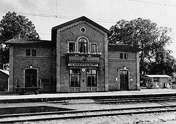 Marieholms station på 1940-talet