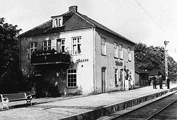 Tågarps station cirka 1950