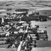 Billeberga, flygfoto från öster