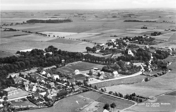 Billeberga, flygbild