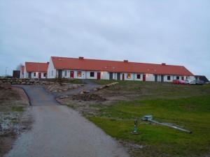 Huslängorna från vägen