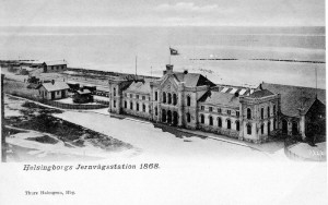 Helsingborgs station 1868