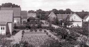 Kamrervägen i Billeberga på 1930-talet