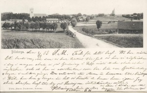 Billeberga cirka 1900, vykort