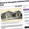 HD artikel om Asmundtorps station